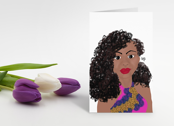 Elizabeth | Greetings card