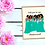 Thumbnail: Bridal party - Green | Greetings card
