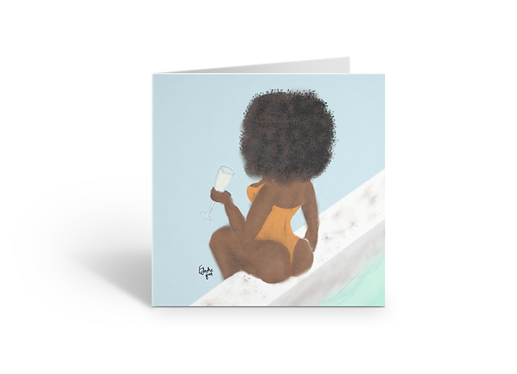poolside | Greetings card