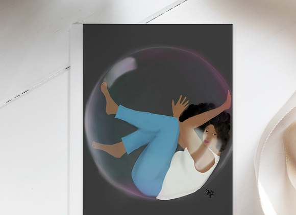 Bubble | Greetings card