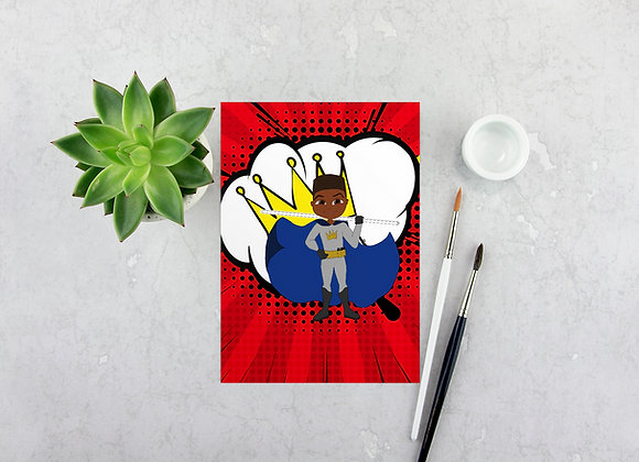 Young Royals - Cam | Greetings card