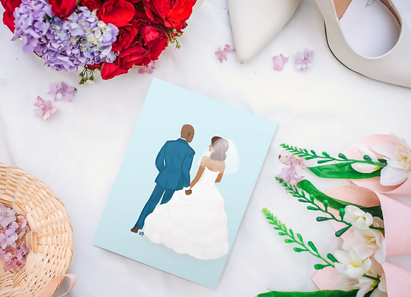 Just me and you | Greetings card