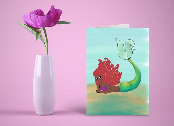 Ariel like you | Greetings card