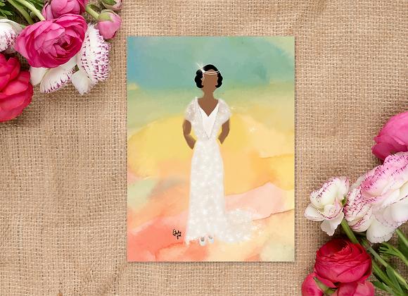 ophelia | Greetings card