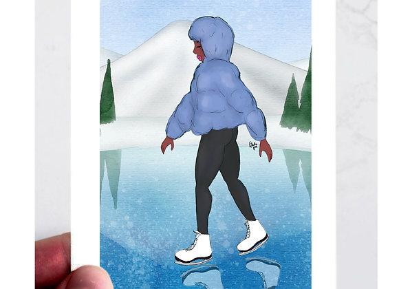 Swan   Christmas   holiday season   Greetings card