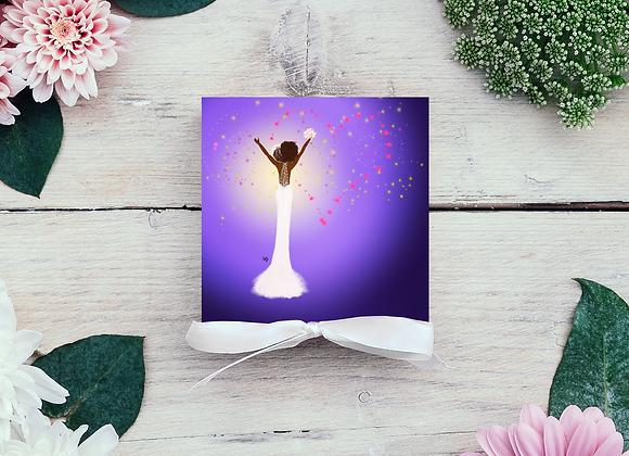 Shine   Greetings card
