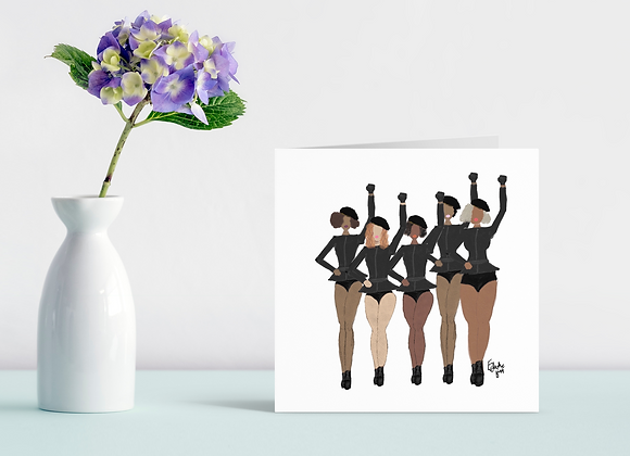 Formation | Greetings card