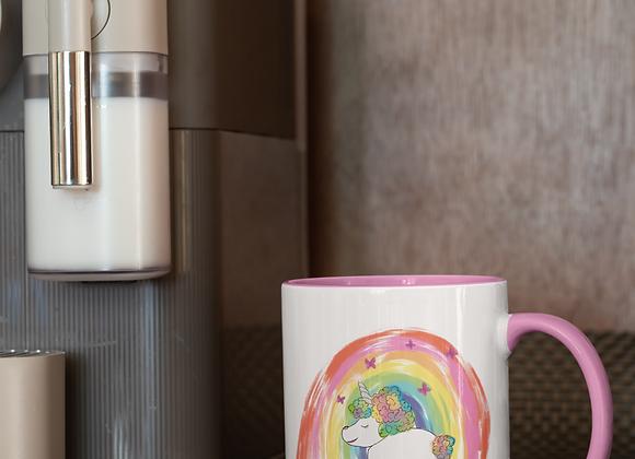 Joyce | Afro unicorn | 10oz Mug