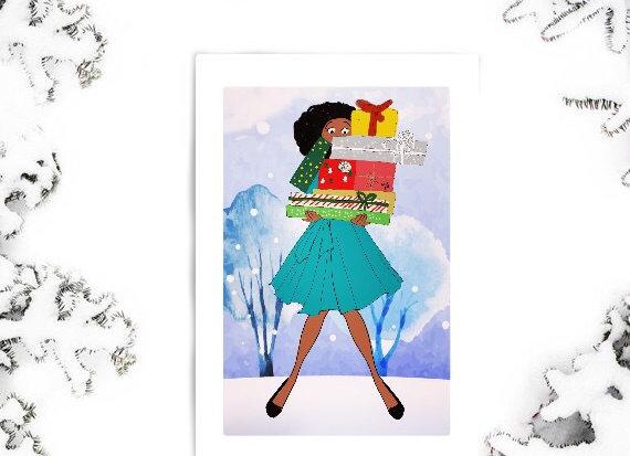 Celia | Christmas | holiday season | Greetings card