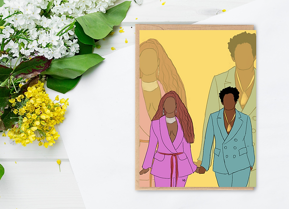 Mr & Mrs (2) | Greetings Card