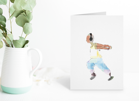 Moves (male) | Greetings card