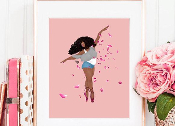 Eat, Sleep, Dance, repeat | wall art print | Ballerina