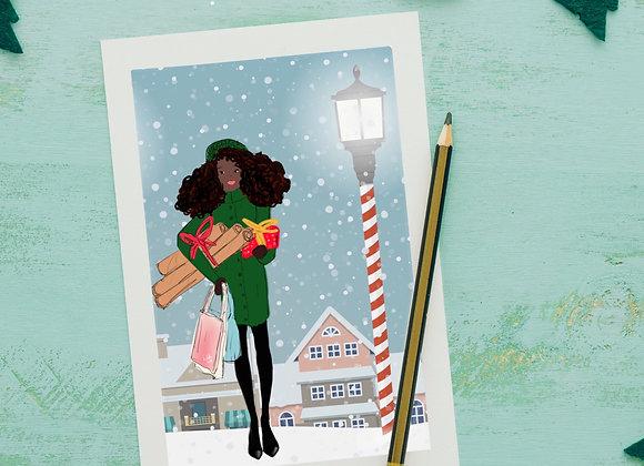 Preparations | Christmas | holiday season | Greetings card