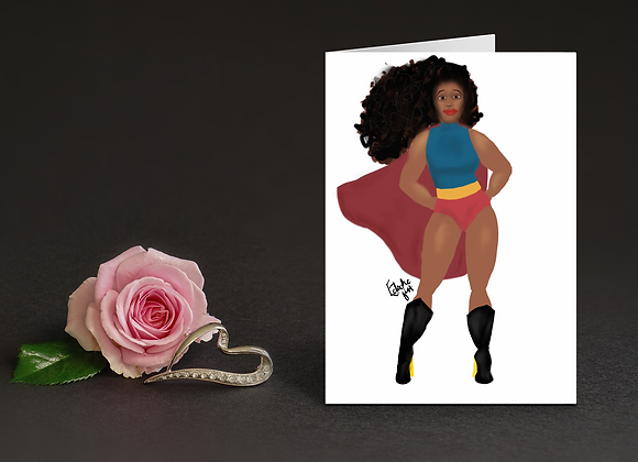 Supermum | Greetings card