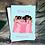 Thumbnail: Bridal party (b)   Greetings card