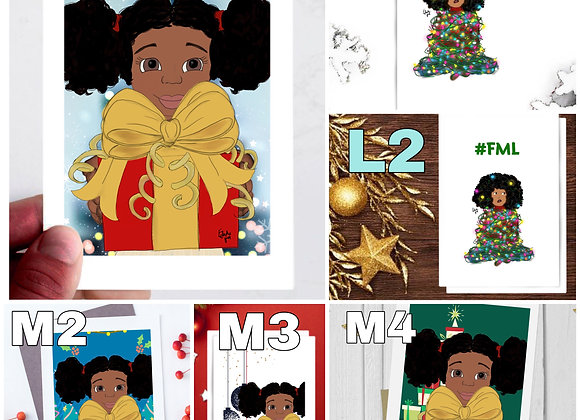 Christmas cards mix n match discount sets!