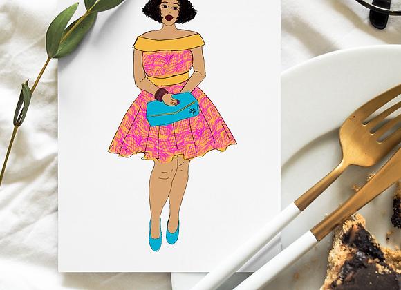 Tamara | Greetings card