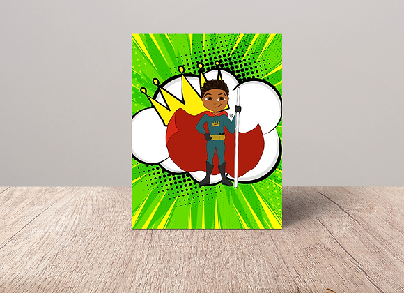 Young Royals - Fin | Greetings card