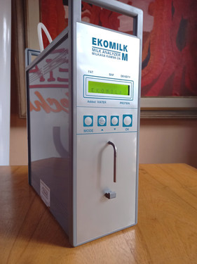 Analizador de leche Ekomilk