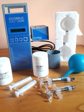 Analizador de celular somaticas Ekomilk