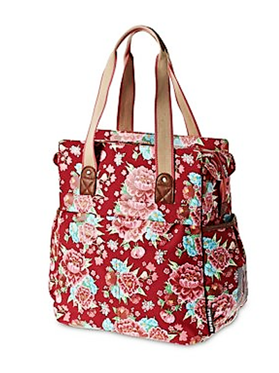 Basil Bloom Shopper Rouge