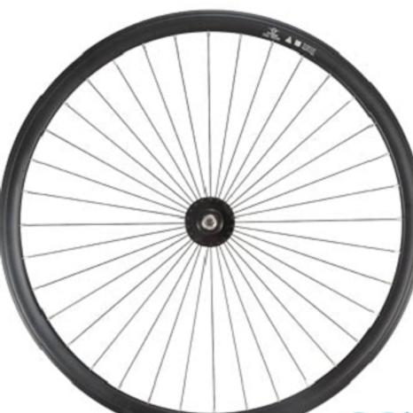 Paire de roues Fixi noir