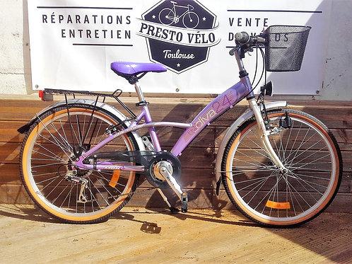 "Vélo fille 24"" MBK TBE Cadre Alu"