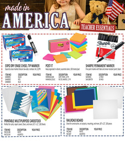 Made In America TE Editable Flyer