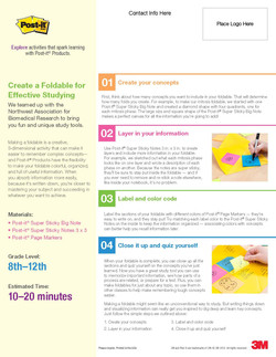 3M Effective Studying Lesson Plan