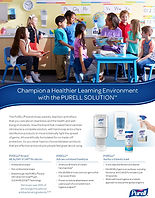 Purell Healthy Soap Sell Sheet_Education