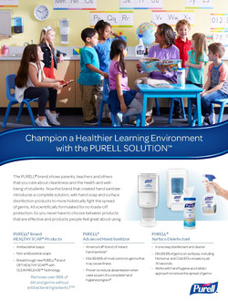 Purell Healthy Soap Sell Sheet_Education_Page_1