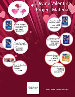 Divine Valentine Materials Flyer Final