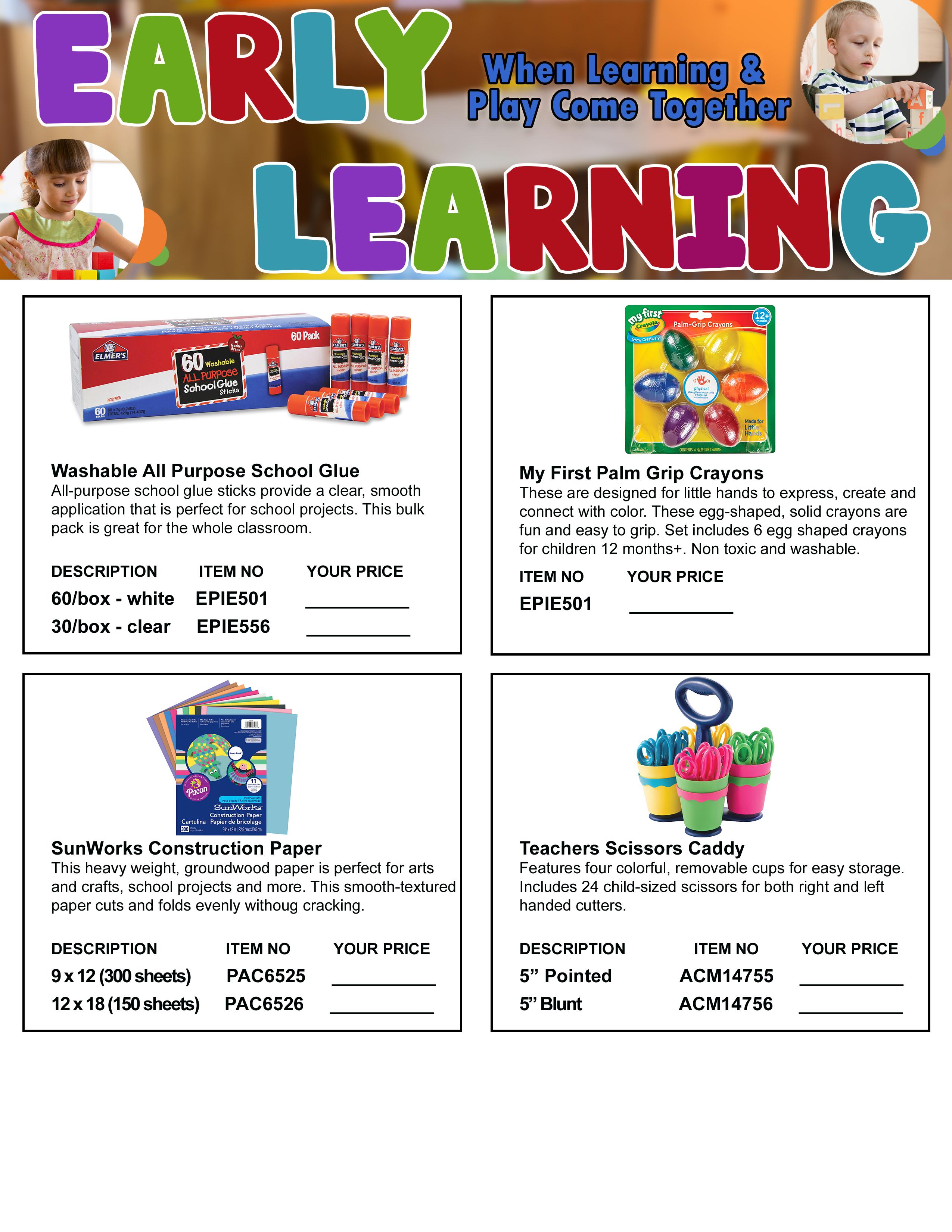 Early Learning Flyer Final