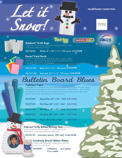 Pacon January Flyer
