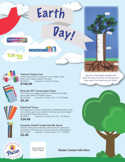Pacon Earth Day Flyer