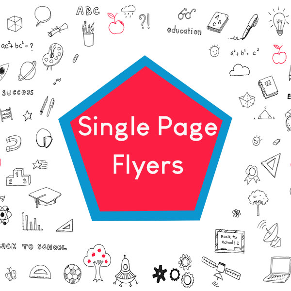 Single Page Flyer