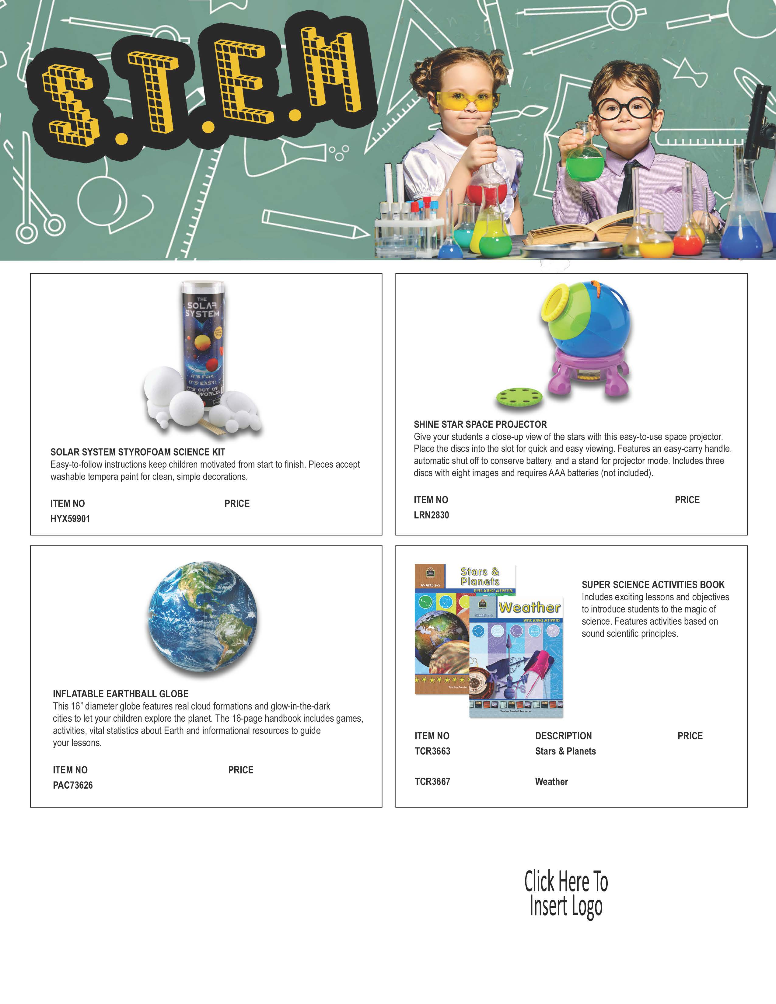 STEM Flyer Editable