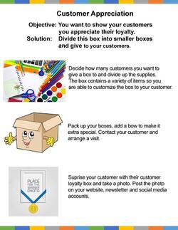 Customer Appreciation Example