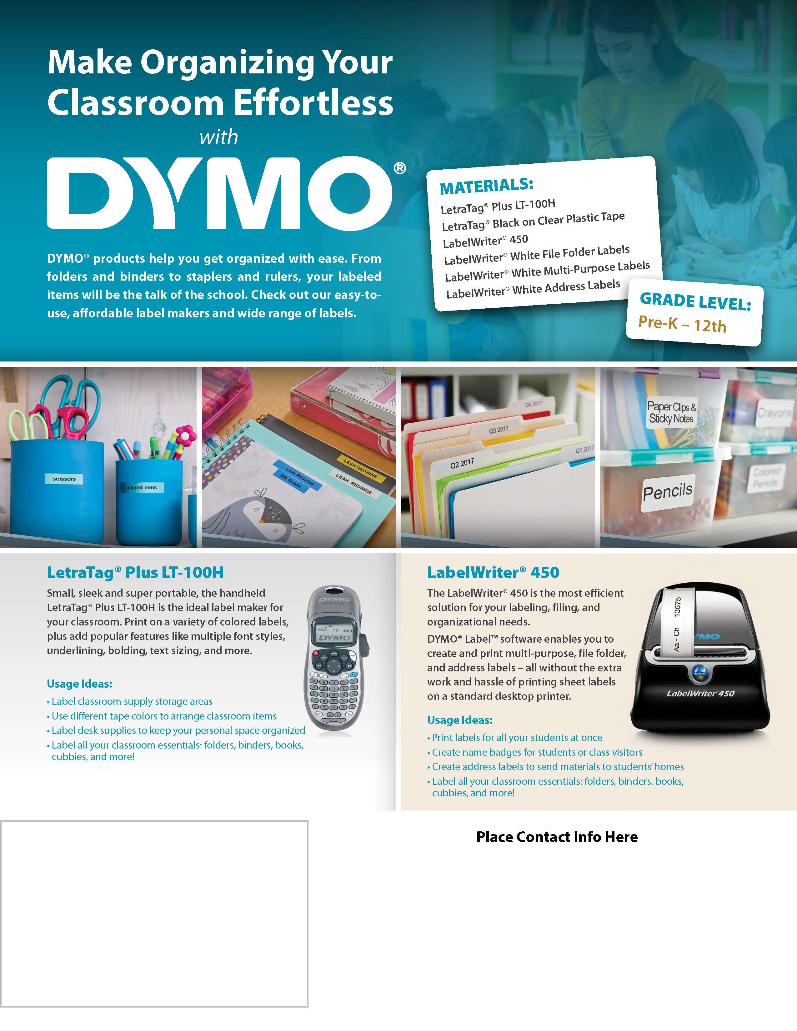 DYMO H4E Flyer