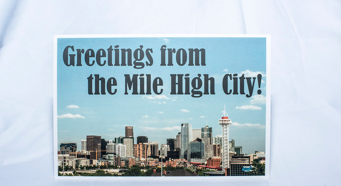 Greetings from the Mile High City