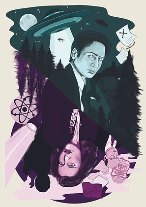 X-Files Print