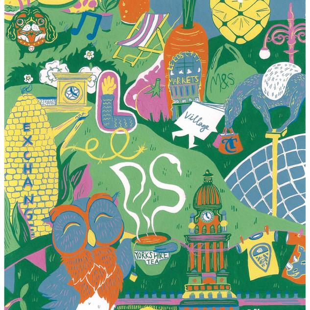 Illustrated Leeds