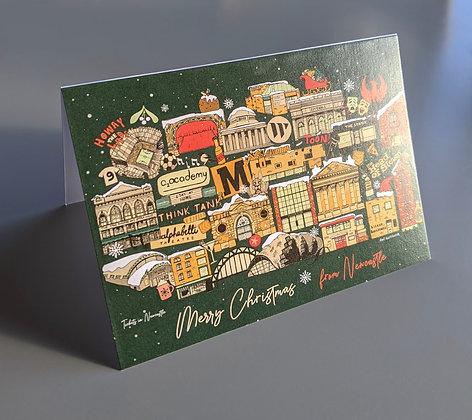 Newcastle Christmas Card