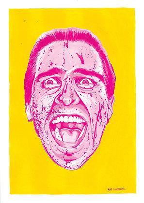 American Psycho print