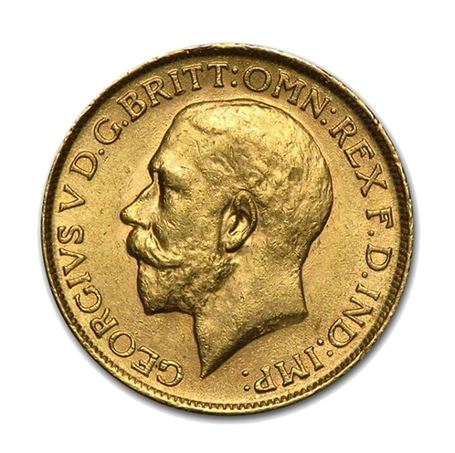 UK Gold Sovereign - George V