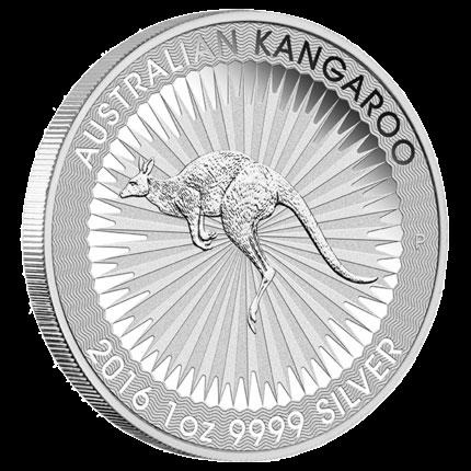 Australian Kangaroo One Ounce Silver Coin
