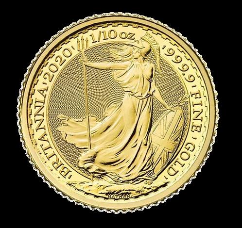 1/10oz Gold UK Britannia Coin