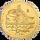 Thumbnail: OTTOMAN EMPIRE, EGYPT, MAHMUD I, GOLD ZERI MAHBUB (1143H/1730 AD)
