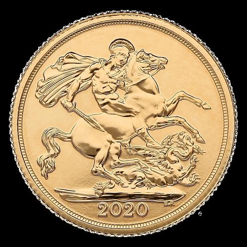 UK Gold Sovereign, 2020