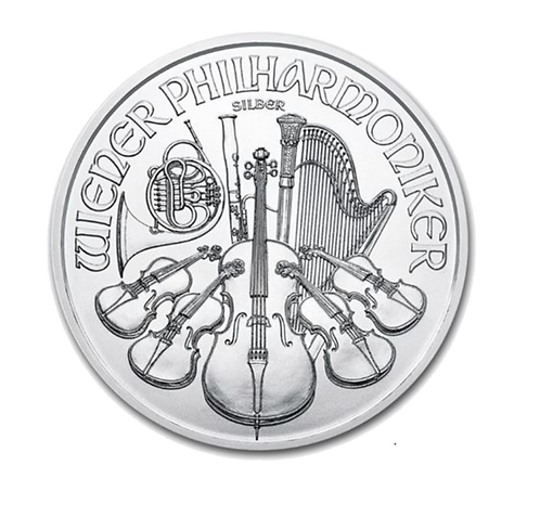 1oz Silver Austrian Philharmoniker, 2015-2020